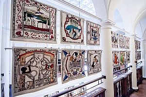 Scottish Tapestry at Atwater Library