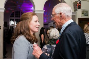 Westmount Mayor Christina Smith and Guest of Honour Michael Harrison