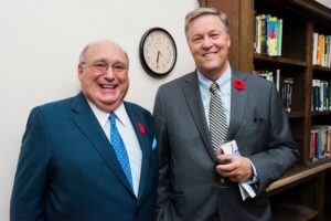 David Angus and Marc Trottier, event sponsors.